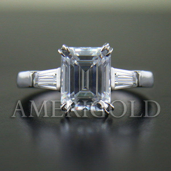 Engagement Diamond Three Stone Ring