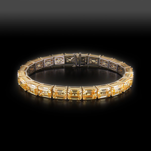 Bracelet Custom Jewelry,18KT Yellow Gold